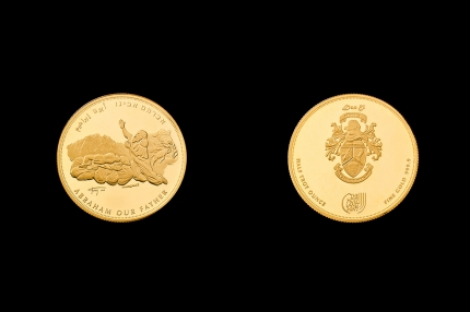 Abraham Half Troy Ounce 9999 Gold